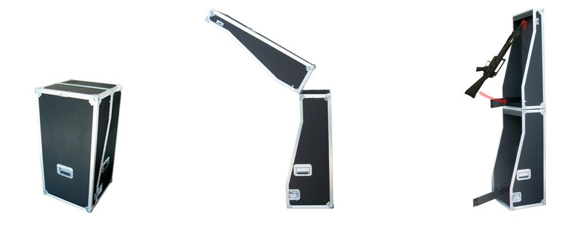 Trizio Baule rastrelliera per Beretta AR70/90 o SC70/90