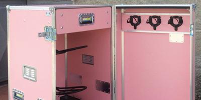 Trizio flight case su misura e personalizzati per il settore sport e arredamento. Trizio made in Italy
